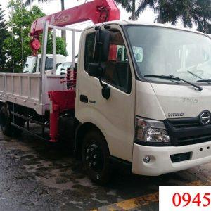 xe tải hino XZU730L gắn cẩu