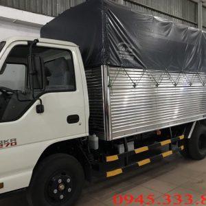 Xe tải 1.9 tấn thùng mui bạt đạt tiêu chuẩn euro4. Xe có tổng tả trọng dưới 5 tấn. Phù hợp lưu thông thành phố