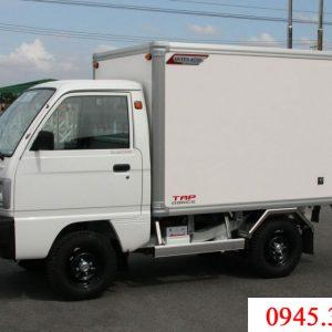 xe tải suzuki truck thùng bảo ổn vơi tải trọng 500kg được nhiều khách hàng tin dùng