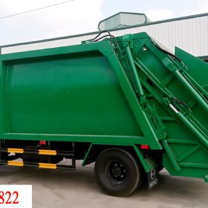 xe Hino Fc đóng thùng ep rác