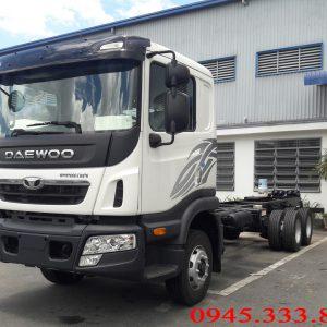Xe tải Daewoo 15 tấn được đánh giá là dòng xe chất lượng.