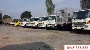 Xe tải Hino, các xe thuộc dòng hino series 500