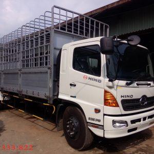 Bán xe tải Hino FG8JPSL thùng mui bạt bửng nhôm