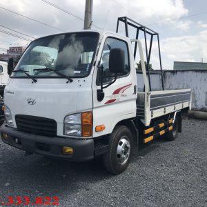Xe tải hyundai N250 thùng lửng gia chữ A chở kiếng, tải trọng 2.5 tấn, xe lắp ráp tại Việt Nam