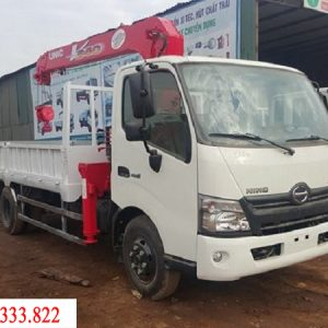Xe tải Hino XZU720L gắn cẩu