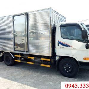 Hyundai HD65 thùng kín là một lựa chọn hợp lý cho những ai cần xe tải bền, mẫu mã đẹp, giá cả hợp lý.