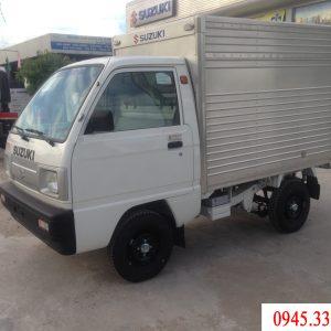 suzuki carry truck thùng kín có tải trọng 500kg được mệnh danh là vua ủa các cung đường.