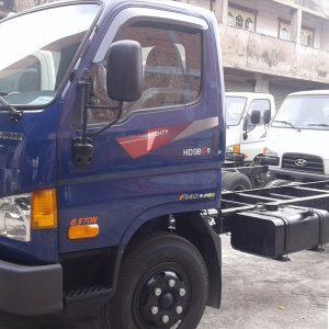 xe tải hyundai HD98, cabin - chassi