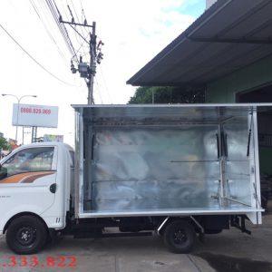 Xe tải Hyundai H150 đóng thùng cánh dơi giải pháp tiết kiệm, giảm chi phí cho Kinh Doanh