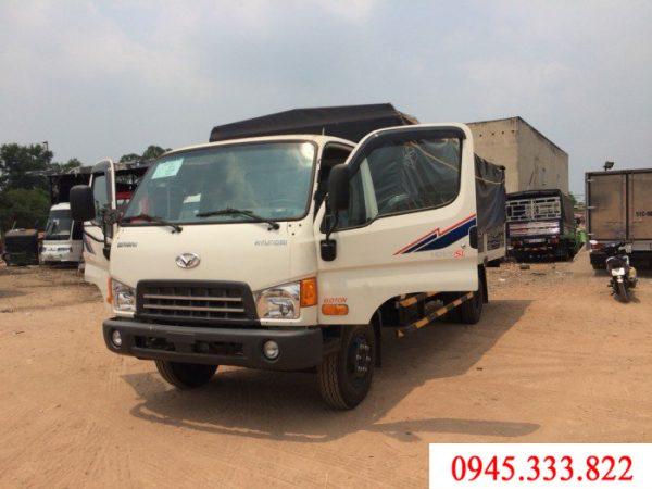 xe tải 8 tấn, thùng mui bạt 6.3 m: HD120sl