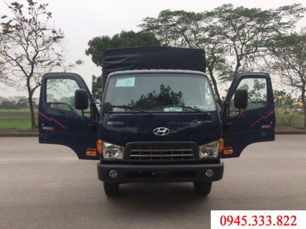 xe tải Hyundai HD120sl thùng mui bạt, tải trọng 8 tấn, phục vụ quý khách hàng chuyên chở các sản phẩm với tải trọng lớn.