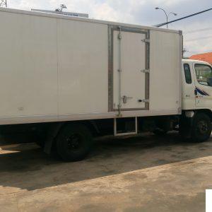 Xe tải Hyundai HD72 thùng đông lạnh nhập khẩu nguyên chiếc