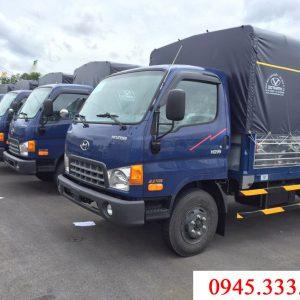 xe tải hyundai HD99 thùng mui bạt tải trọng 6.5 tấn