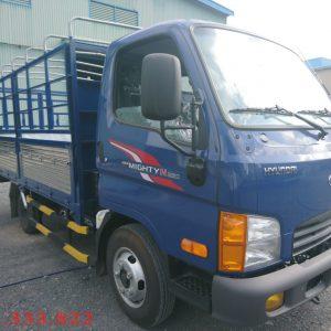 Xe Hyundai 2.5 tấn thùng mui bạt. Dòng xe được đánh giá cao trong dòng các xe tải 2,5 tấn hiện nay.