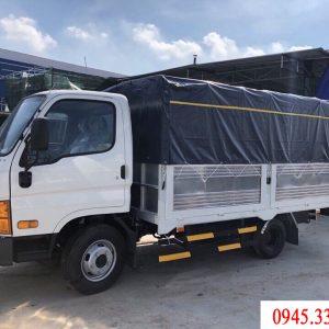 Xe tải Hyundai N250 tải trọng 2.5 tấn thùng mui bạt