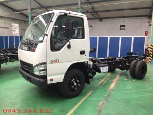 Xe tải isuzu 1.9 tấn euro 4 QKR77H, Cabin - chassi xe