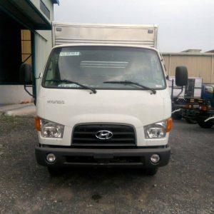 Hyundai 7 tấn Thành Công được lắp ráp tại Việt Nam. Linh kiện nhập khẩu CKD tại Hàn Quốc
