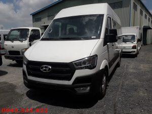 xe khách hyundai solati dòng sản phẩm mới do Nhà máy Hyundai Thành Công lắp ráp
