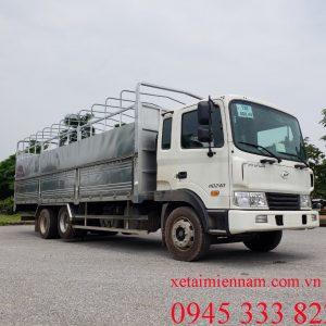 Hyundai HD240 nhập khẩu nguyên chiếc từ Hyundai Hàn Quốc. Tải trọng chuyên chở hàng hóa cho phép: 15.700 kg và tổng tải trọng: 22.900 kg
