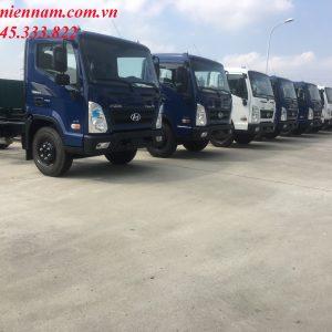 Hyundai Ex8 hay còn gọi hyundai Mighty Ex8 là dòng xe thuộc thế hệ thứ 3 của Hyundai. Hyundai Ex8 chính thức ra mắt thị trường Việt Nam đầu năm 2020.